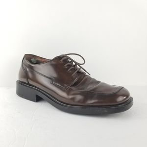 Kenneth Cole Reaction derby lace shoes 13 brown